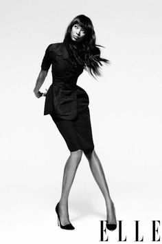 Naomi Campbell in a gorgeous lbd