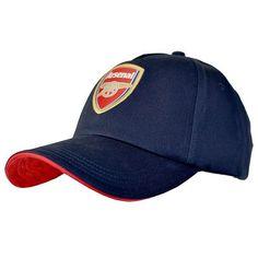 637bd4afd6f Arsenal FC - Navy Crest Cap - SPECIAL PRICE · Arsenal MerchandiseSoccer  FansSoccer ...