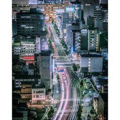 Instagram【kia.rohi】さんの写真をピンしています。 《高崎駅前通り . 休日の夜のせいか交通量も灯りも少ない😣 . さて、昼飯タイム😋 . Location : Gunma,Japan . . #夜景 #風景 #レーザービーム #群馬#nightview #japan #landscape #instagood #icu_japan #japan_night_view #Loves_Nippon #IGersJP  #Lovers_Nippon #instagramjapan #ptk_japan #team_jp_ #team_jp_東  #tokyocameraclub #special_spot_ #wu_japan #wp_japan  #ig_japan #bestjapanpics #奥行き同盟 #yakei_luv  #phos_japan #jp_gallery  #noitenoinstagram #写真好きな人と繋がりたい #ファインダー越しの私の世界》