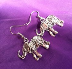 Hey, I found this really awesome Etsy listing at https://www.etsy.com/uk/listing/248525526/silver-elephant-earrings-cute-jewelery