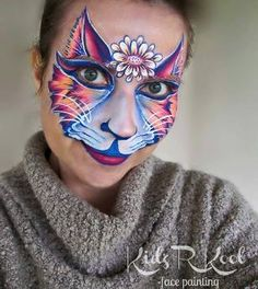 Glitter For Slime Product Lion Face Paint, Kitty Face Paint, Cat Face, Glitter Face, Glitter Gel Nails, Glitter Gif, Girl Face Painting, Face Painting Designs, Animal Face Paintings