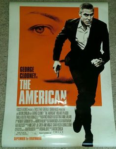 The American Clooney Promo DS Movie Theater Double Sided Poster 27x40 P102
