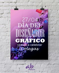 Feliz día Internacional del Diseñador Gráfico!!!