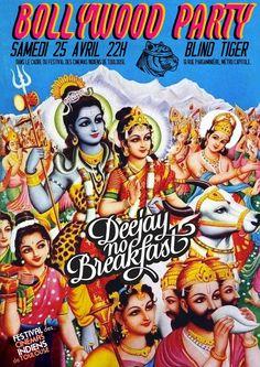 Bollywood party du samedi 25 avril 2015