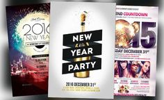 Top 30 New Year Flyer Templates of 2015 - http://flyersonar.com/top-30-new-year-flyer-templates-of-2015/ End of the year will be soon and better be ready with the top 30 New Year Flyer Templates of 2015! Time to continue some of our great flyer template collections and our next big event is New Years Eve. Be ready to celebrate your upcoming New Year party and club event with some high-quality print-ready flyer templates for Photoshop!    #Celebration, #Club, #DJ, #Electro