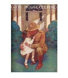 Good Housekeeping magazine cover, March 1918 Jessie Willcox Smith