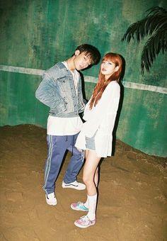 Bobby x Lisa Just edit guysss:' Yg Ikon, Ikon Kpop, Jennie Lisa, Blackpink Lisa, Bobby Kpop, South Korean Girls, Korean Girl Groups, Nct, Yg Artist