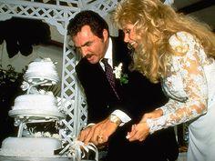 Loni-Anderson & Burt Reynolds wedding cake