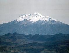 Volcano Nevado del Huila, Colombia