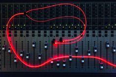 Glow - headphones w/ laser light