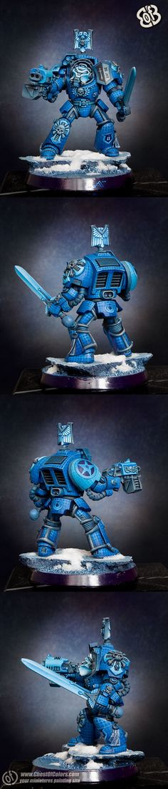 Space Marines Terminator Captain but what Chapter?