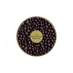72% Dark Chocolate Blueberries www.healthynutfactory.com