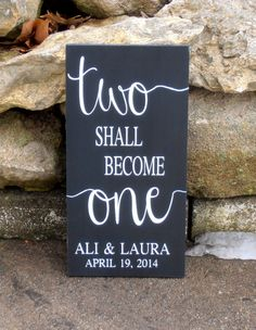 Items similar to Two shall become One personalized wood sign custom wood wedding plaque personalized name and date on Etsy Personalized Wood Signs, Wooden Signs, Wedding Plaques, Reclaimed Wood Benches, Rustic Wood Background, Patterned Furniture, Wood Signs Sayings, Wood Bedroom Furniture, Wood Interior Design