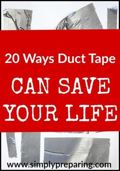 Duct tape has become indispensable to Preppers due to the uncanny ability to fix almost anything. There is always room for duct tape in the emergency kit.