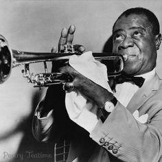 Louis Armstrong Photo Print, Louis Armstrong Playing Trumpet, Jazz Music, Black and White Vintage Photo, Museum Quality Photo Print Louis Armstrong, Jazz Artists, Jazz Musicians, Music Artists, Jazz At Lincoln Center, History Lesson Plans, Cool Jazz, Cinema, Fashion Clothes