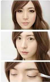 Image result for asian makeup tutorial