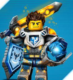 nexo knights clay -