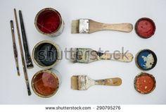 """Nikola Markovic 81's """"Art studio"""" set on Shutterstock"""
