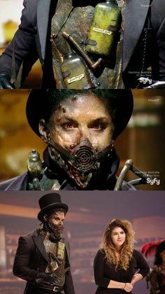 Face Off | S08E13: Full Steam Ahead | Spotlight Challenge Winner: Emily's undertaker  #TeamLaura