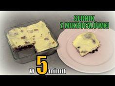 Sernik z mikrofalówki w 5 minut - YouTube