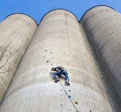 An abandoned grain elevator in Buffalo, NY is going to be turned into a huge climbing center. Can't wait to go once it's finished!