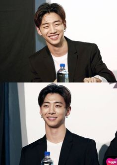 I dunno why but i just LOVE his toothy shark-like gorgeous smile......#BangYongguk | BAP