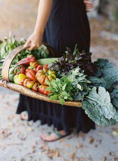 Basket of Veggies! Vendor/Sponsor: Duo Events Photographer: Karen Wise