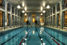 HDR in Helsinki: Yrjönkadun uimahalli/ A beautiful, public art deco indoor swimming pool in Beautiful Buildings, Beautiful Places, Visit Helsinki, Baltic Cruise, Indoor Swimming Pools, Olympic Swimming, Famous Places, Places To Go, Architecture