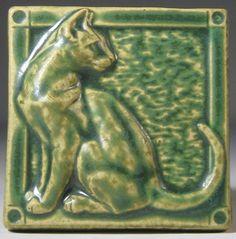 Pewabic Pottery's tile designed by Azucena Nava-Moreno