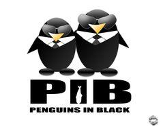 Penguins in Black