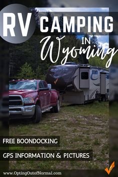 Are you taking a vacation or weekend road trip to Wyoming? Are you looking for free camping near the Tetons National Park? We have the best free camping areas with pictures and GPS information. Wyoming has so many amazing destinations and we'll share our free camping areas we found. Big rig friendly whether it's a 5th wheel, motorhome or travel trailer. Free camping is the best way to travel! #wyoming #boondocking #rvcamping #rvlife #rvtravel #freecamping Camping Guide, Diy Camping, Camping Checklist, Camping Essentials, Camping Ideas, Ways To Travel, Rv Travel, Family Travel, Best Rv Parks