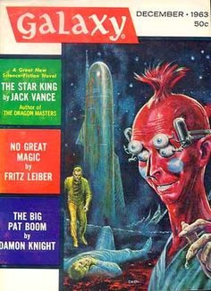 ED EMSHWILLER - art for The Star King by Jack Vance - Dec 1963 Galaxy Magazine