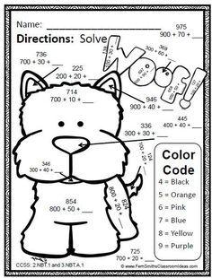 First Grade Math Understanding Place Value Mega Practice 1