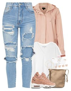 """tan"" by daisym0nste ❤ liked on Polyvore featuring Topshop, Acne Studios, Linda Farrow, Puma, NIKE and Maison Margiela"
