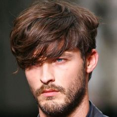 Long Fringe + Full Beard