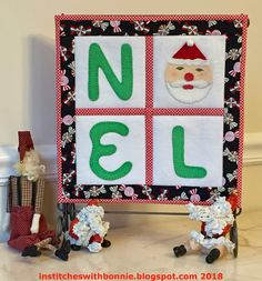 Institches with Bonnie: Christmas in July Blog Hop