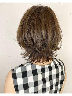 Pin on Balayage Short Thin Hair, Short Hair With Layers, Layered Hair, Short Hair Cuts, Short Blonde, Ash Blonde, Medium Hair Cuts, Medium Hair Styles, Short Hair Styles