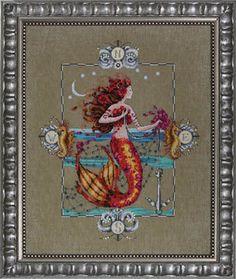 Gypsy Mermaid - Mirabilia Cross Stitch Pattern