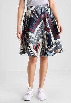 Printed Skirt Printed Skirts, Must Haves, Midi Skirt, Navy Blue, Spring Summer, Boutique, Molly Bracken, Lady, Prints