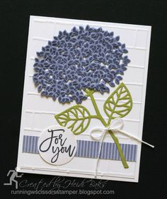 RunningwScissorsStamper: The Stamp Review Crew: Thoughtful Branches