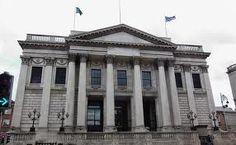 Dublin City Hall for the civil ceremony