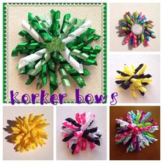 Korker bow large or mini  by LillyBeanBowtique on Etsy https://www.etsy.com/listing/225579170/korker-bow-large-or-mini
