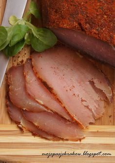Simple way to make edible garnish Fruit Recipes, Pork Recipes, Home Made Sausage, My Favorite Food, Favorite Recipes, Good Food, Yummy Food, Smoking Meat, Special Recipes