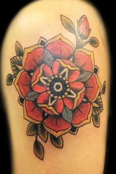 old school poppy tattoo designs - Buscar con Google