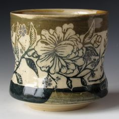celestial sgraffito | New Sgraffito pottery thrown by Steve Daniels and carved by Valisa ...