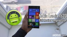 Nokia Lumia 1520 Full Review Impression - YouTube