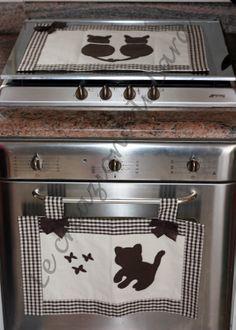 cobre forno e fogão.