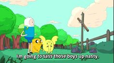 Adventure Time Quotes - Tree Trunks