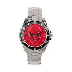 Spider-Man Watch in Silver at Journeys Shoes.