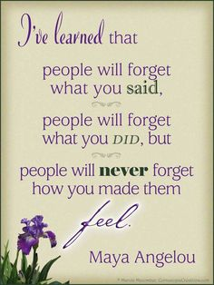 Maya Angelou Quote - Artwork by Marcia Macomber, CornucopiaCreations.com